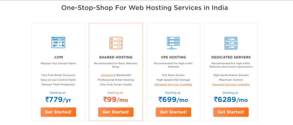 HostGator one-stop-shop for Web Hosting Services in India